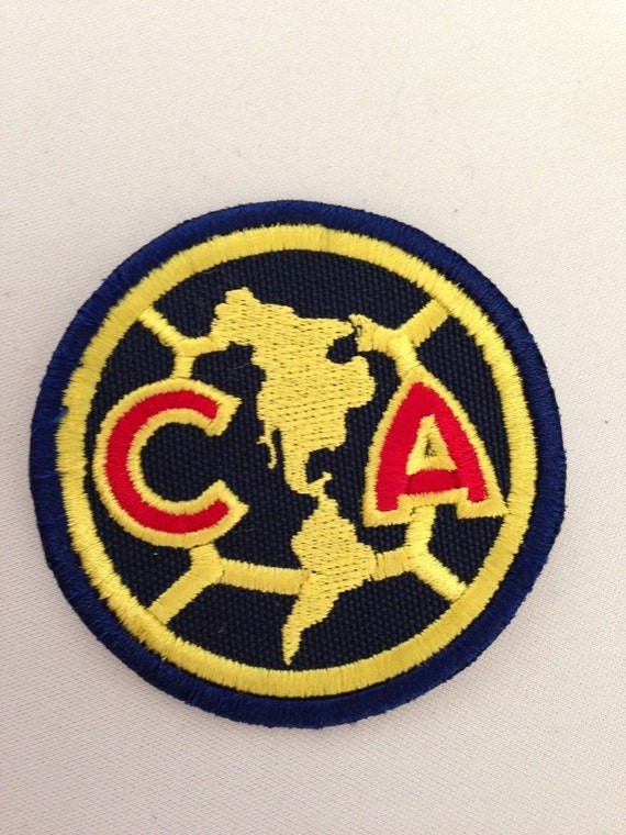 Club America Embroidery Patch Iron Or Sew On Etsy