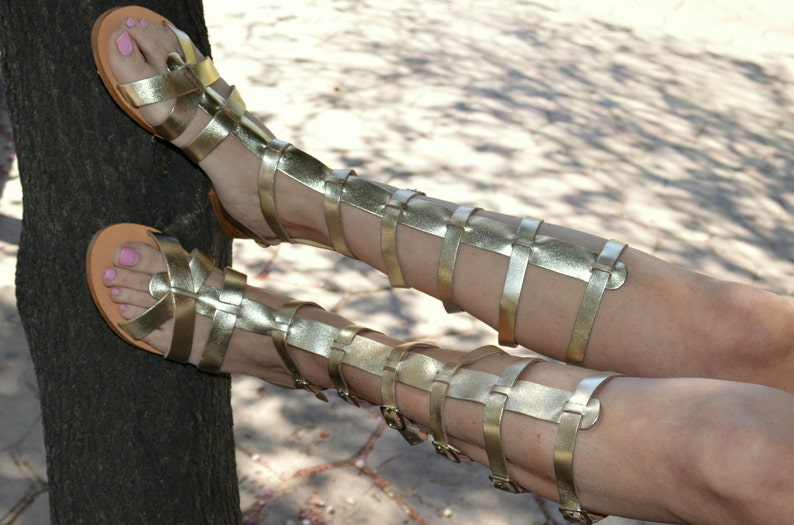Gladiator Sandals,Spartan Sandals,Ancient Greek Sandals,Leather Sandals,Luxury Sandals,Bridal Sandals,Mythology inspired Sandals,Gold Sandal