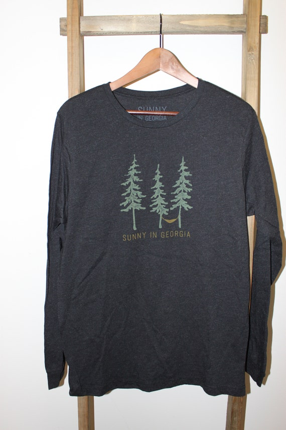Georgia Pine Tri-Blend Long Sleeve Tee