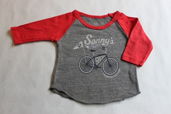 Sonny's Bicycle Shop baby/youth triblend tee