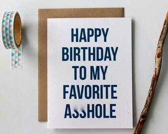 Adult Birthday Card