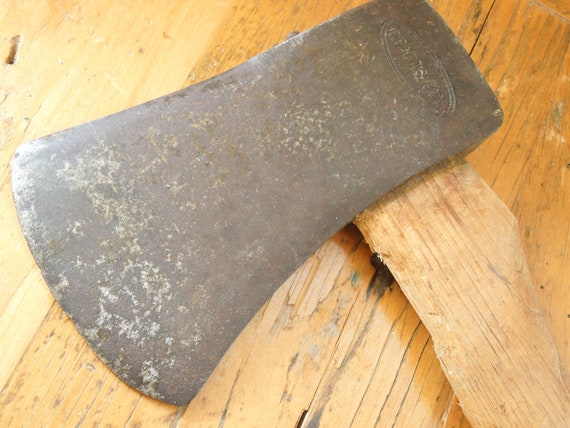 Rare Vintage Craftsman 4.5 Pound Ax FREE SHIPPING!! Double Oval Craftsman Logo Felling Ax