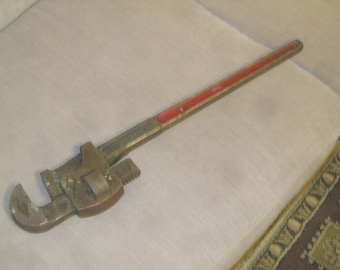 24 Inch Pipe Wrench , Stillson Pip Wrench , Walworth Pipe Wrench , Large Pipe Wrench , FREE SHIPPING!!!