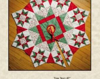 the night before christmas tree skirt pattern 42 qb166