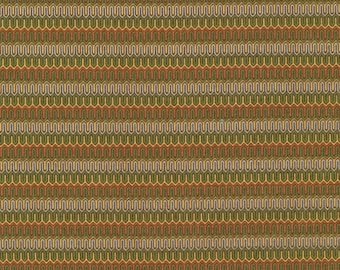 Paintbrush Studio Brown and Green Stripe Who's Who  #120-2261