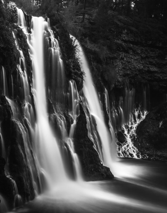 Soft and Smooth (Prints) Burney Falls waterfall Northern California