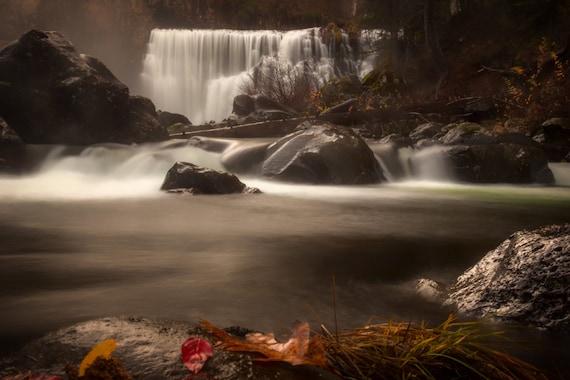 Middle Falls (Prints) McCloud California