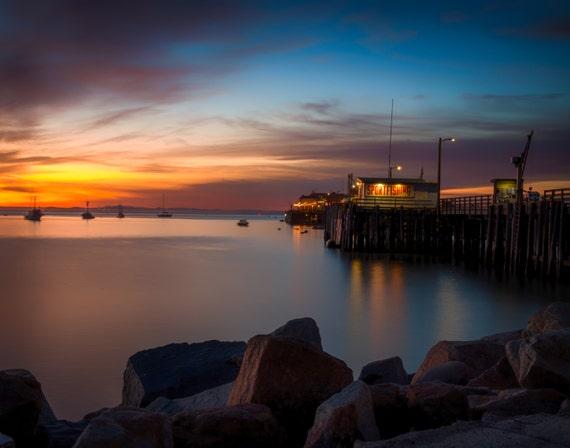 Here She Comes Again (Prints) Harford Pier, Avila Beach California