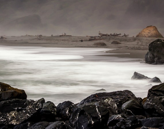 Contimplating Life (Prints) Dry Lagoon Beach Trinidad California