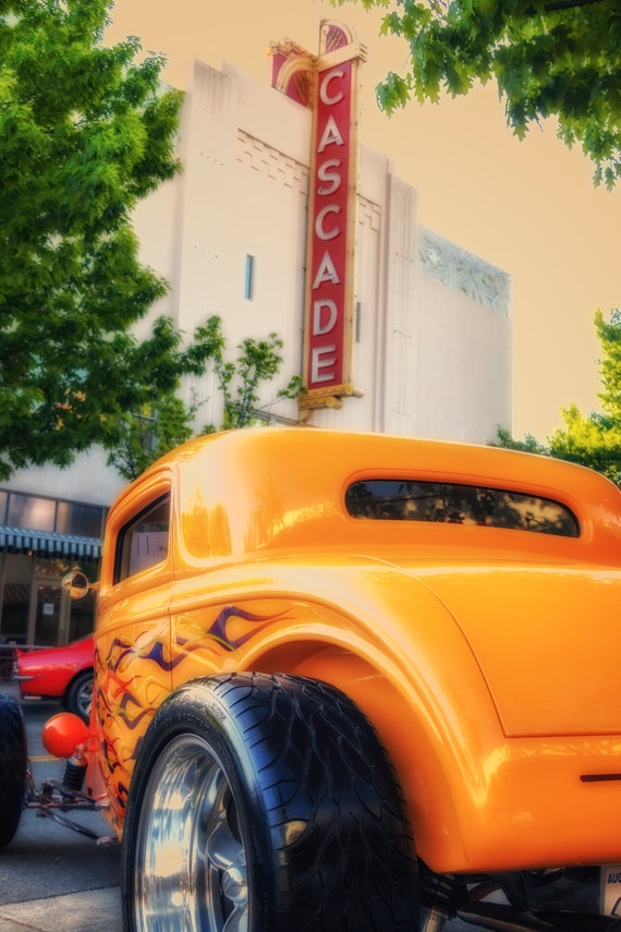 Oldies  (Metal Panel) Kool April Nites Cascade Theatre Downtown Show and Shine