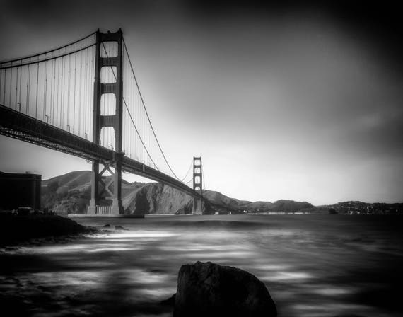 Across the Bay (prints) Golden Gate Bridge San Francisco California