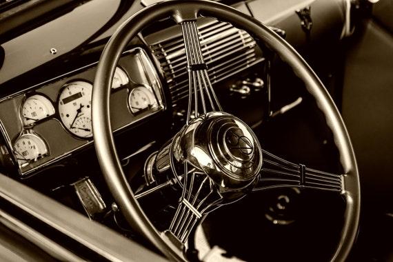 Behind the Wheel Again (Prints) Classic Car