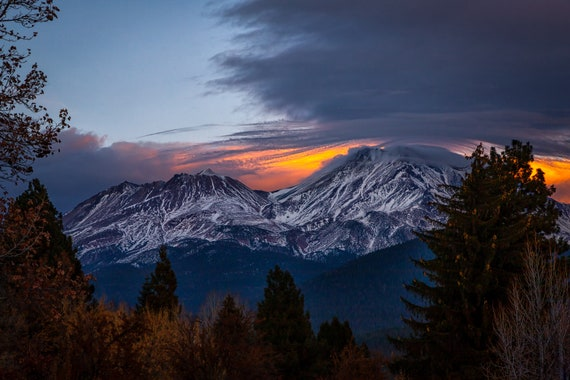The Last Light (Digital download) Mt Shasta Northern California