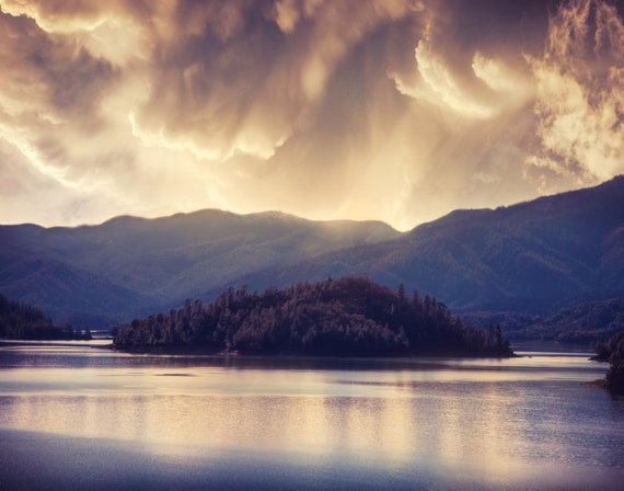 A Beautiful Storm (Prints) Shasta Lake Northern California