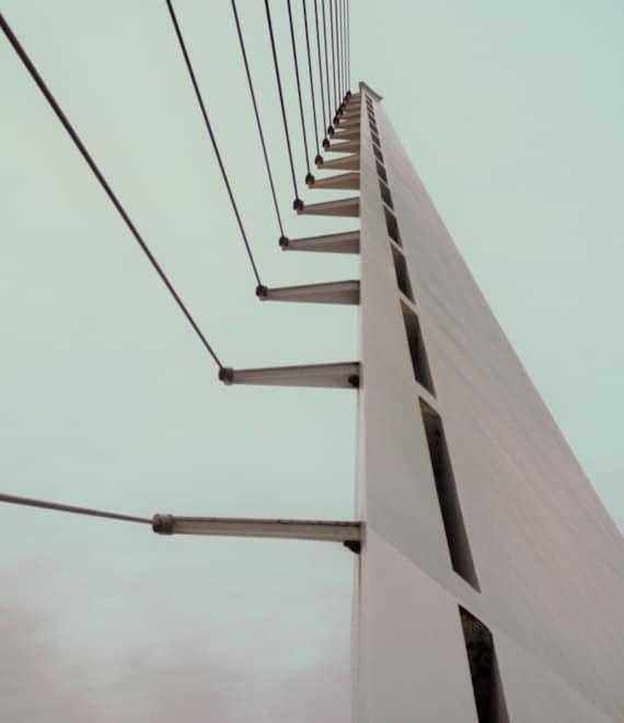 Sundial Bridge Strapped (Prints) Redding California