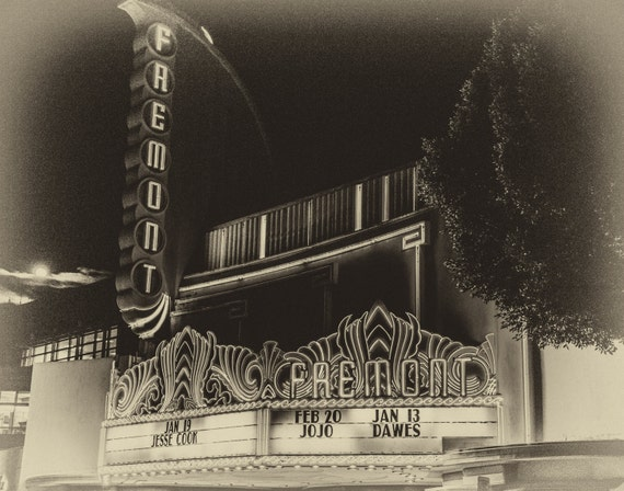 Nostalgic Fremont Theater