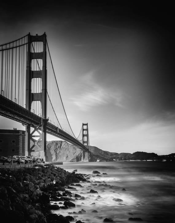 Aligned (prints) Golden Gate Bridge San Francisco California