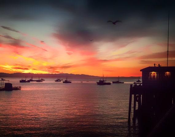 Life is Good (Prints) Harford Pier, San Luis Harbor Avila Beach California