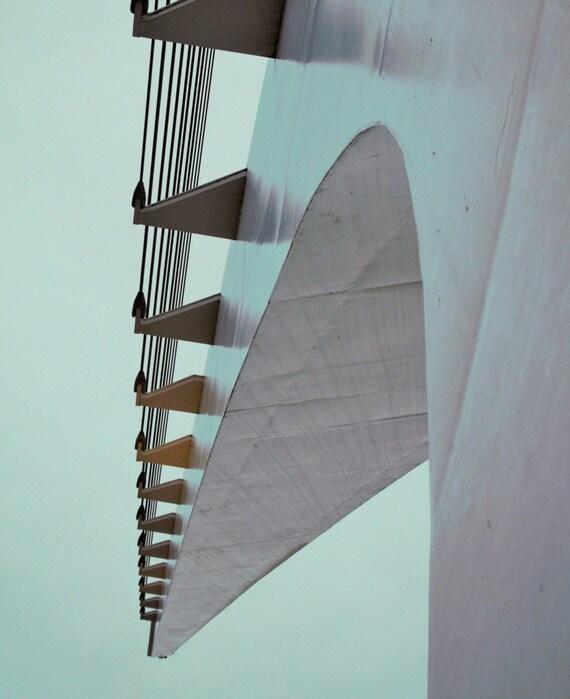 Sundial Bridge curve (Prints) Redding California