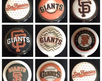 Giants ID Badge Name Tag Holder Retractable Reel Perfect For Nurse, RN, CNA, Teacher, Billard Player, Sports