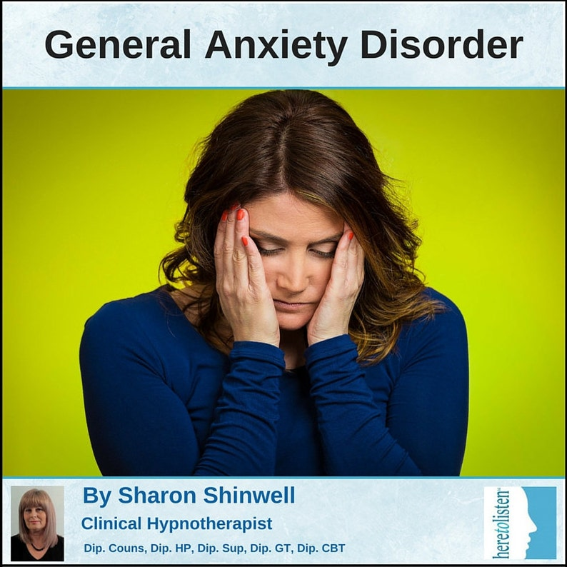 Overcome General Anxiety Disorder  Self-Hypnosis Audio