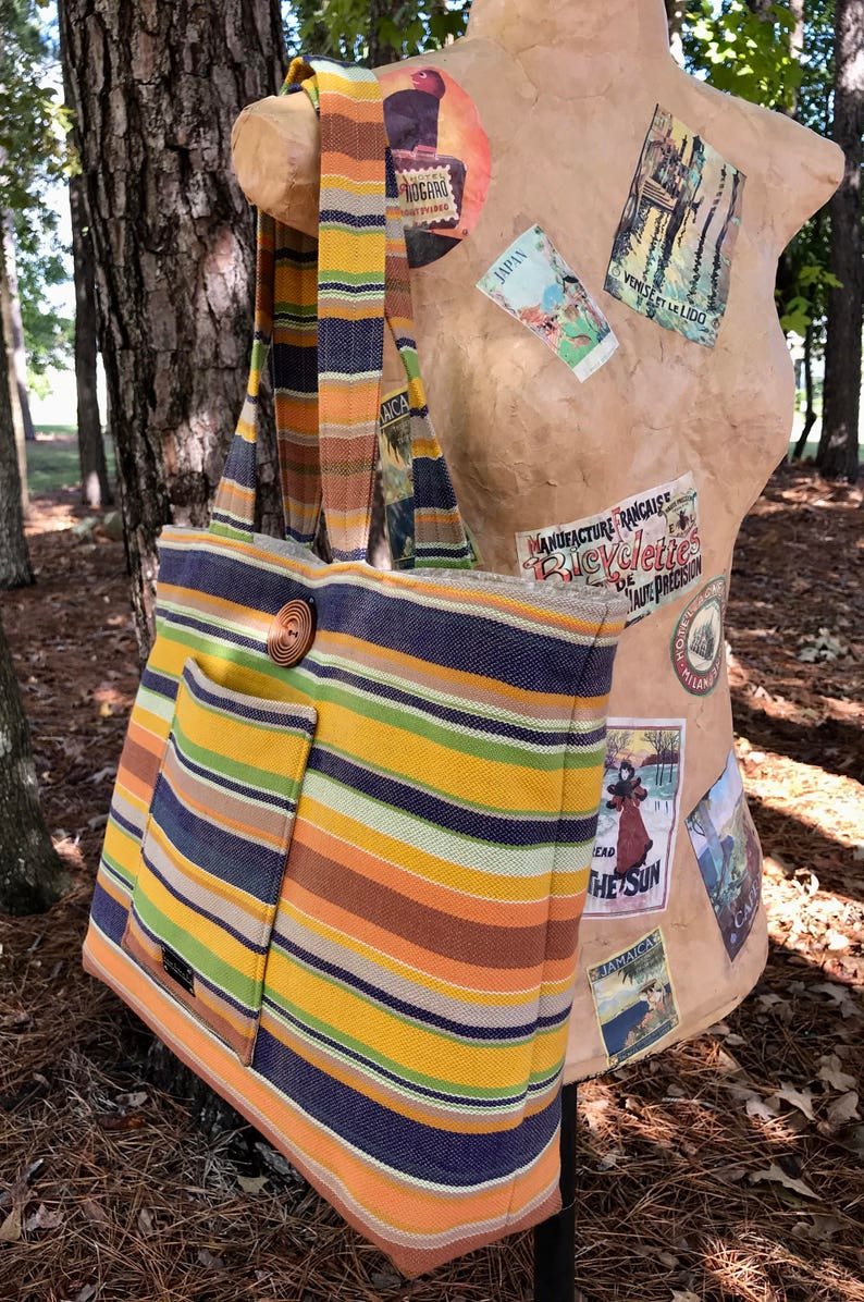 5b2affd1b30 GIRASOL CELAYA WOVEN Wrap Tote Hand-Crafted Tote. Girasol