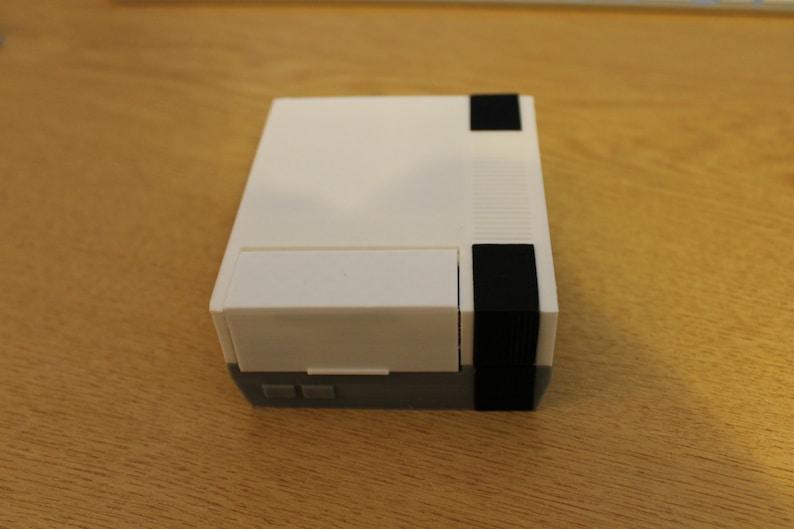 3D Printed NES Nintendo Raspberry Pi 2/3B retropie case image 0