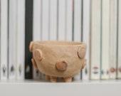 Polka dot Planter , Cactus pottery , Ceramic Pot , Flower pot , Containers PM105