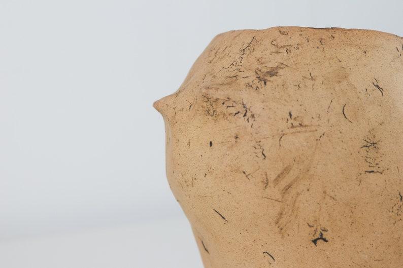 Succulent Pot Handmade Pottery for Bonsai Cat Pottery planter Stoneware planter  PM174