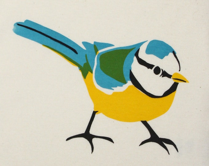 Blue tit Baby t-shirt or bodysuit.