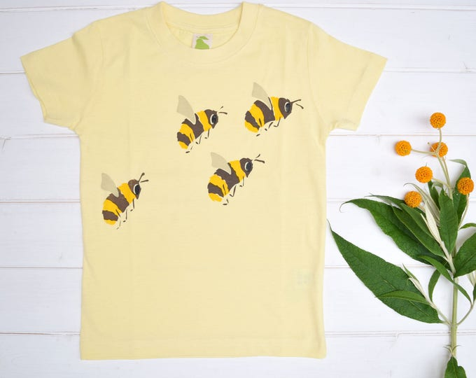 Bees toddler T shirt. Save the Bees!