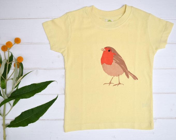 Robin toddler T shirt.
