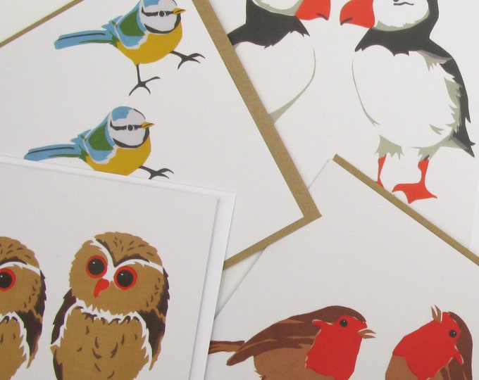 4 PearPrint greetings cards. Choose any 4 designs from the drop down menu.