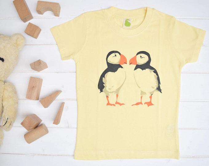 Puffins toddler T shirt.