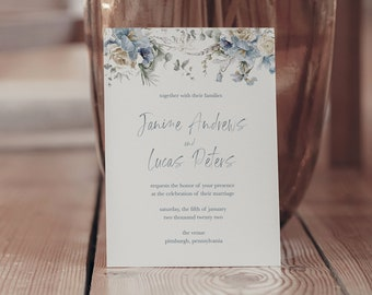 janine collection || wedding stationery, invitation suite, minimal, calligraphy, simple, elegant, beautiful, fall, autumn, october