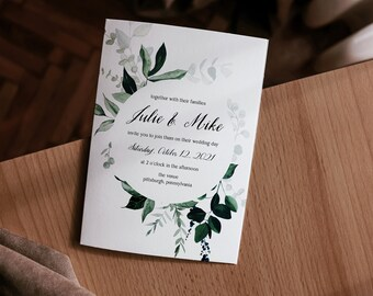 julie collection || wedding stationery, invitation suite, minimal, calligraphy, simple, elegant, beautiful