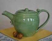 pottery tea pot, tea pot, green tea pot, ceramic tea pot, green pottery, tea pottery, tea