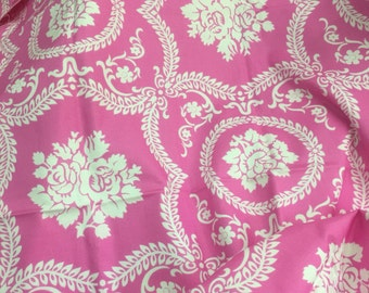 Fat Quarter_Casey Scroll in Pink, Bell Bottom by Jennifer Paganelli OOP HTF Designer Cotton Fabric