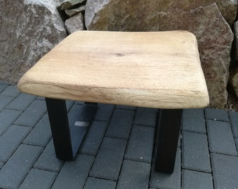 Side table, wooden table, oak table, coffee table