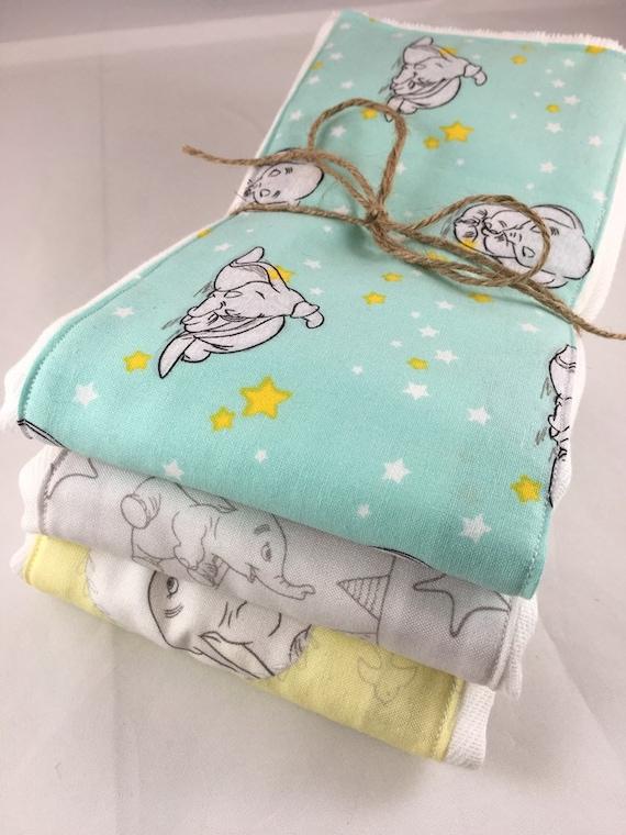 Baby Personalized Burp Cloth Dumbo