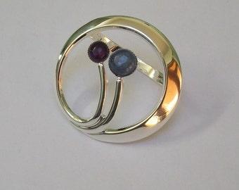 12 Art Deco Scarf Ring