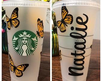 Memory Road Custom Starbucks Cup