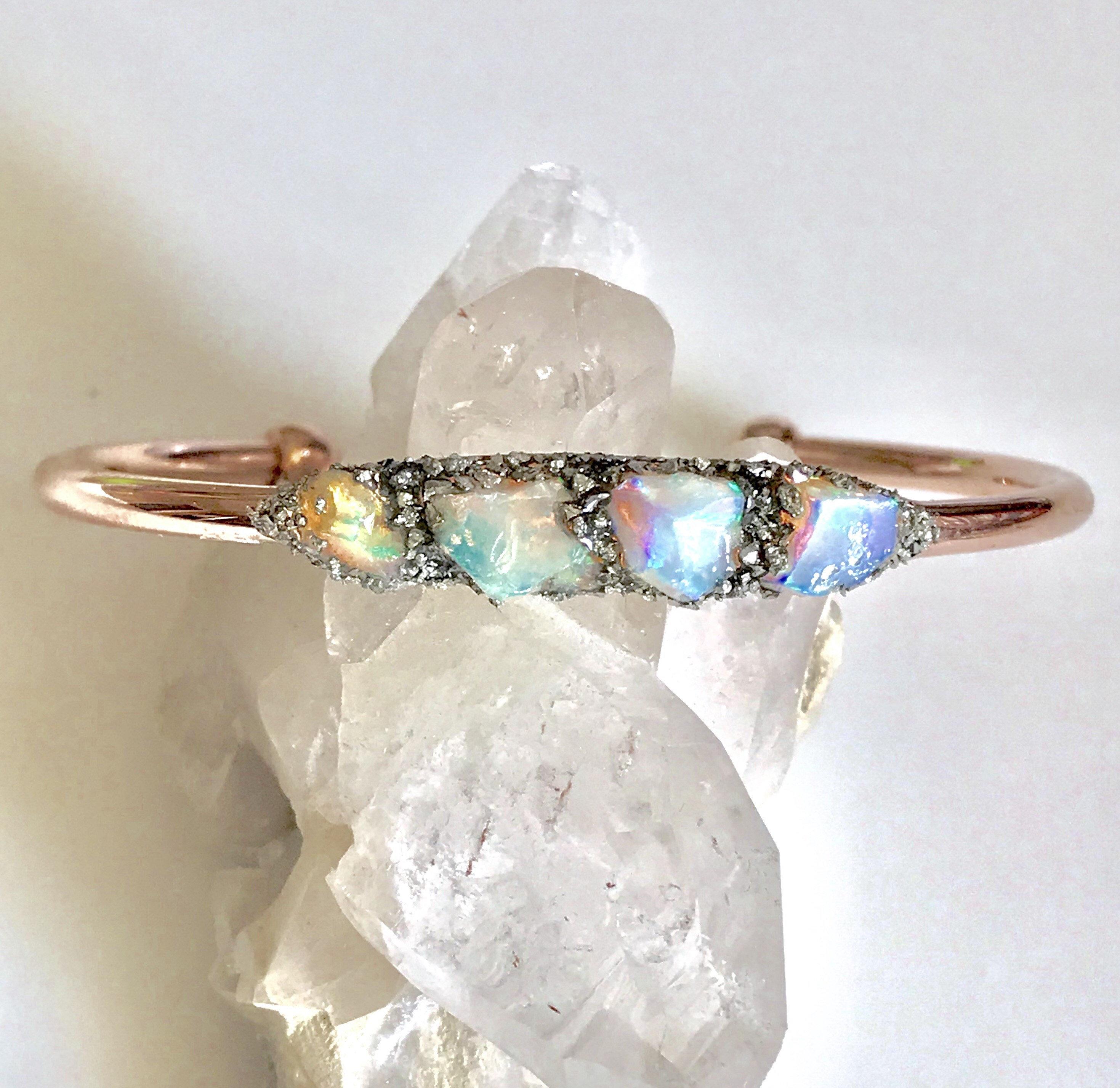 """Classic feu étincelles Goutte Vert Quartz Gems Silver Chain Bracelets Bracelets 8/"""""""