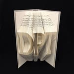 DPT | Doctorate of Physical Therapy | Graduation Gift | Medical | 3 Letters | Folded-Book Art Sculpture | Unique Gift |Custom |Personal