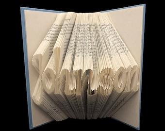 Katherine G Johnson| Women Scientist | Mathematician | NASA | Family Name | Unique Gift | 7 Letter Words | Folded-Book Art