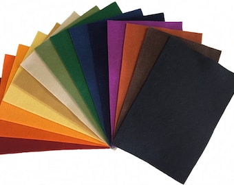 "100% Wool Felt from National Nonwovens -  8"" x12"" sheet - pure merino wool"