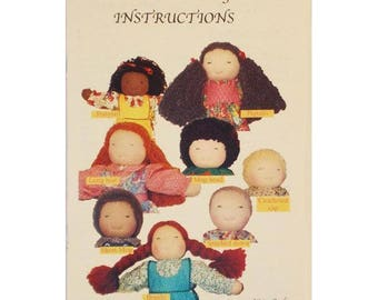 Waldorf Doll Hair Instruction Booklet