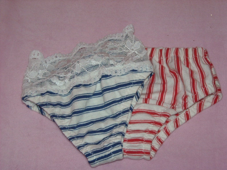 2 Pretty Panties for My Size Barbie Doll