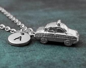 Taxi cab necklace   Etsy