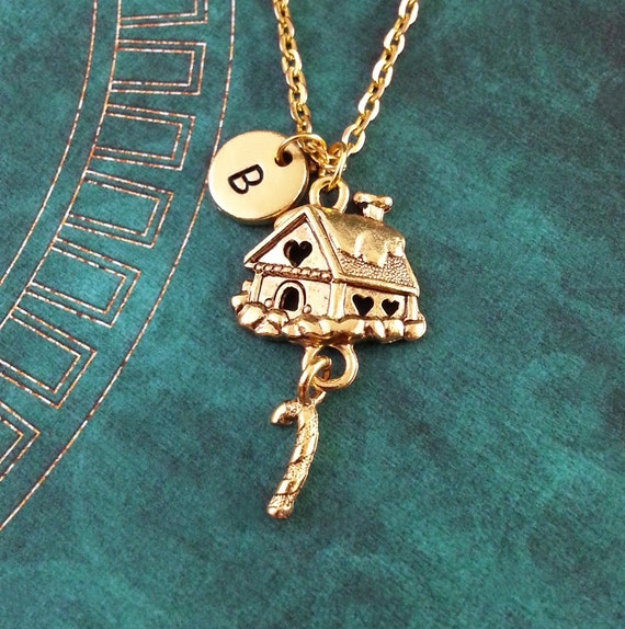 us jewelry house gingerbread house necklace jewelry 4261